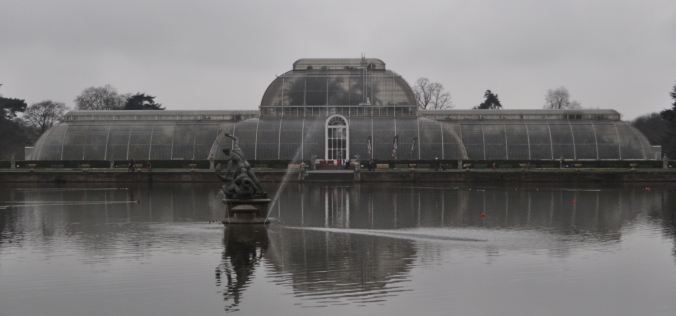 The World Famous Palm House at Kew.