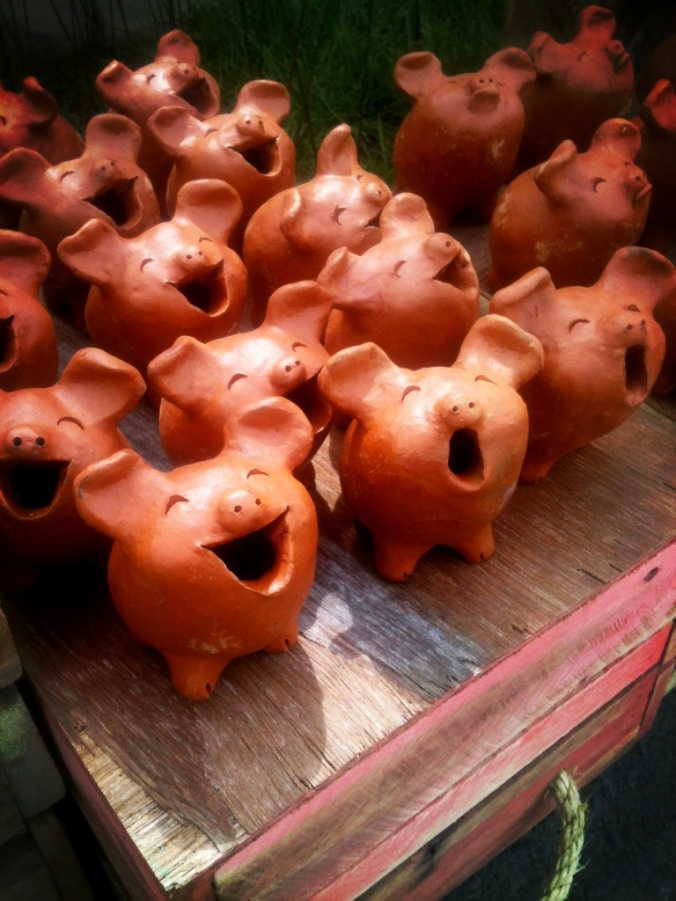 Singing Pigs.