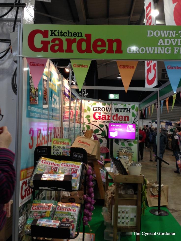 Kitchen Garden Magazine stand.