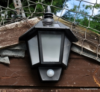 Solar Security Welcome Light