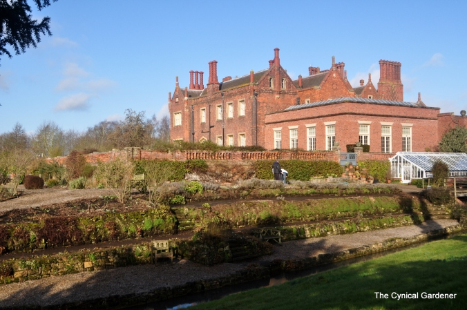 View of the House across the gardens