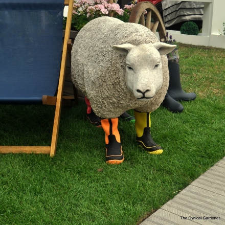 Be-wellied Sheep.