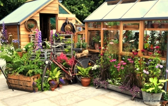 Nice Greenhouse Display