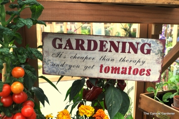 Gardening IS good For you.