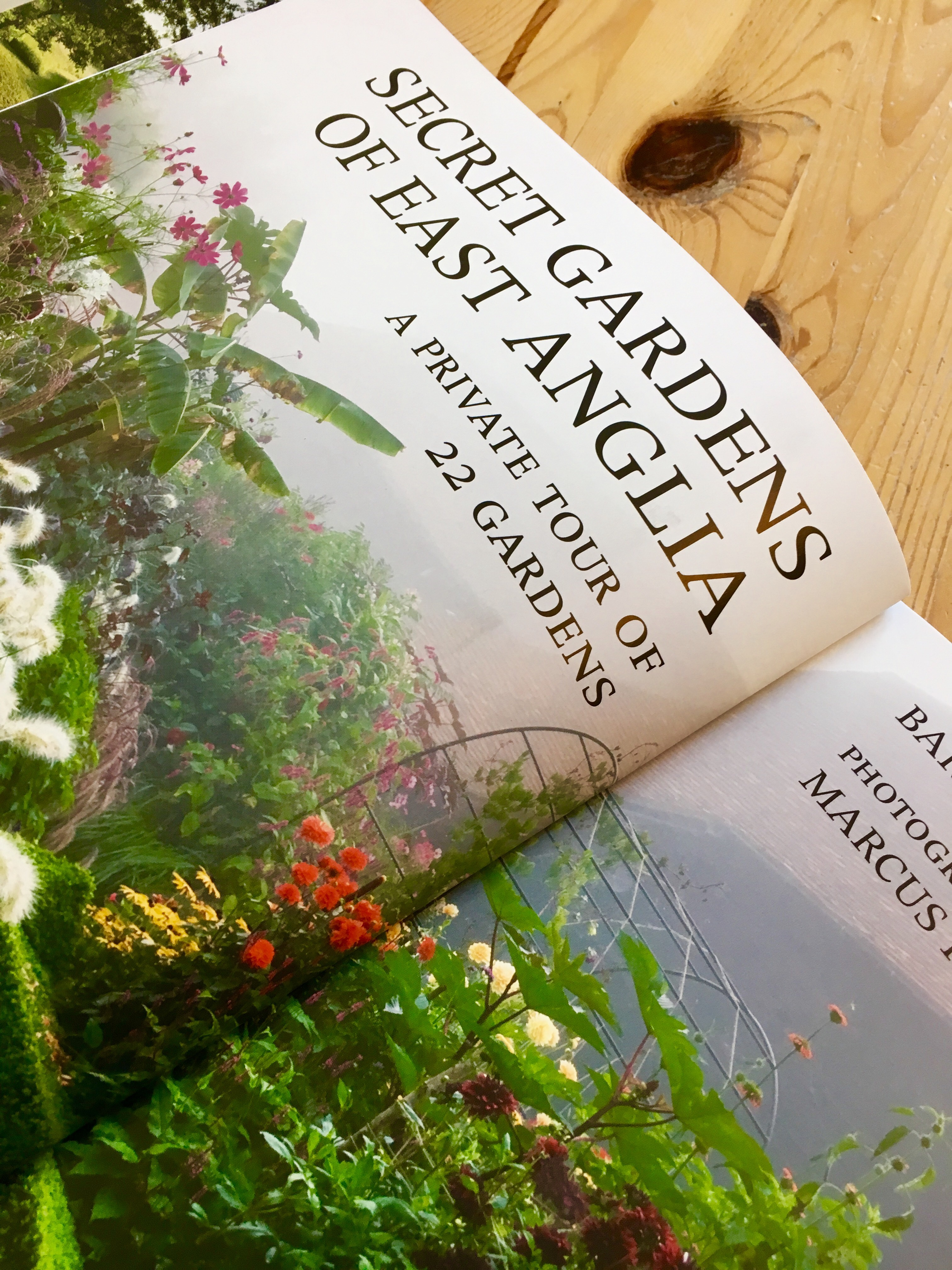 Book Review- 'Secret Gardens of East Anglia'