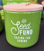 Seed fund money pot.