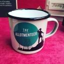 The Allotmenteer Enamel Mug.