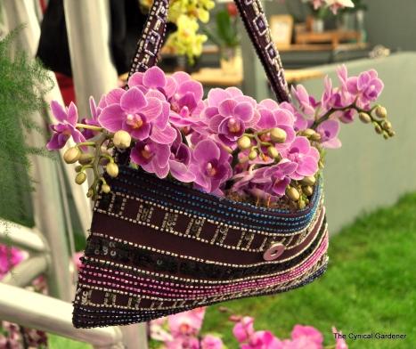 Orchids in Handbags
