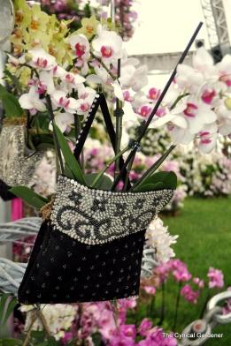 Orchids in Handbags.