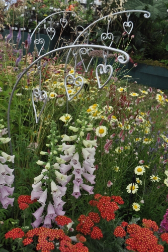 Dicentra Sculptures on the Daisy Roots Stand