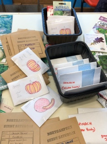 Handmade seed packets