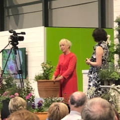 Carol Klein - always at this show